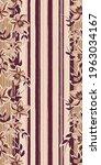 vector pink brown flowers... | Shutterstock .eps vector #1963034167