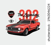 vintage iron   the legendary  ... | Shutterstock .eps vector #1963046224