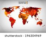 abstract creative concept...   Shutterstock .eps vector #196304969