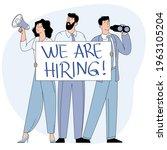 we are hiring illustration...