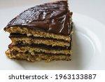 pancake chocolate cake with...