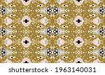 ikat geometric folklore... | Shutterstock .eps vector #1963140031