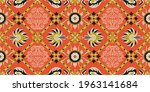 bandana print. vector seamless... | Shutterstock .eps vector #1963141684