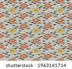 bandana print. vector seamless... | Shutterstock .eps vector #1963141714