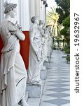 Achilleion Palace At Corfu...