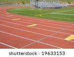 official red running track... | Shutterstock . vector #19633153