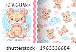 childish cartoon character... | Shutterstock .eps vector #1963336684