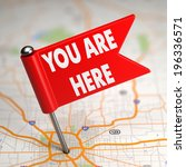 you are here concept   small... | Shutterstock . vector #196336571