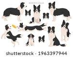 border collie clipart....   Shutterstock .eps vector #1963397944