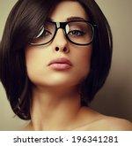 Beautiful Makeup Fashion Girl...
