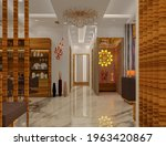 3d Rendered Contemporary Style...