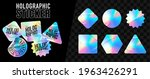 holographic stickers. hologram...   Shutterstock .eps vector #1963426291