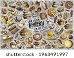 colorful vector hand drawn...   Shutterstock .eps vector #1963491997