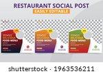 promo food menu social media... | Shutterstock .eps vector #1963536211
