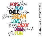 spray slogan print. slogan text ...   Shutterstock .eps vector #1963596961