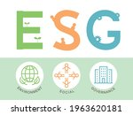 esg vector infographic....   Shutterstock .eps vector #1963620181