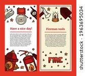 illustration of fireman tools...   Shutterstock .eps vector #1963695034