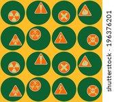 seamless geometrical background ... | Shutterstock .eps vector #196376201