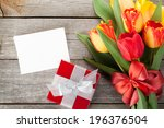 Fresh Colorful Tulips With Gif...