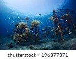 Underwater Shot Of Metal...
