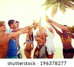 diverse multiethnic people...   Shutterstock . vector #196378277