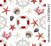seamless pattern with... | Shutterstock .eps vector #1963788691