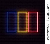 Neon Sign In The Form Of The...
