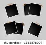 set of vector photo frame...   Shutterstock .eps vector #1963878004