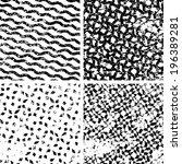 abstract seamless pattern | Shutterstock .eps vector #196389281