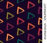 triangle motif minimal... | Shutterstock .eps vector #1963904197