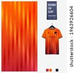soccer jersey pattern design.... | Shutterstock .eps vector #1963926604