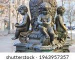 saint petersburg  russia  ...   Shutterstock . vector #1963957357