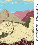 triple divide peak located in... | Shutterstock .eps vector #1963963147