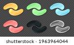 gel eye patches  collagen masks ...   Shutterstock .eps vector #1963964044