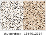 simple abstract wild animal... | Shutterstock .eps vector #1964012314