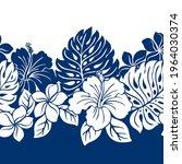 Tropical Hawaiian Pattern...