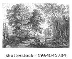 from a series of six. a brook... | Shutterstock . vector #1964045734