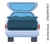 wide trunk car icon. cartoon of ... | Shutterstock .eps vector #1964091907