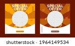 editable minimal square poster... | Shutterstock .eps vector #1964149534