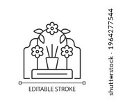 tomb sweeping day linear icon....   Shutterstock .eps vector #1964277544