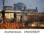Small photo of CIRCA JANUARY 2012 - BERLIN: the Reichstags building in the Tiergarten district of Berlin.