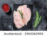Raw Sliced Chicken Breast...