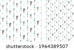 postcards with feathers and... | Shutterstock .eps vector #1964389507