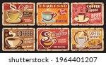 coffee shop espresso  coffee...   Shutterstock .eps vector #1964401207