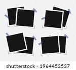 set of vector photo frame...   Shutterstock .eps vector #1964452537