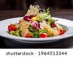Vegetable Salad With Smoked...