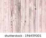 Old Wooden Painted Pink Rustic...