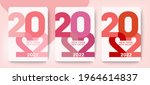 design new year new concept of...   Shutterstock .eps vector #1964614837