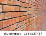 The Perspective Of A Red Brick...