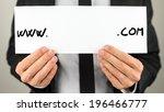 closeup of male hands holding... | Shutterstock . vector #196466777